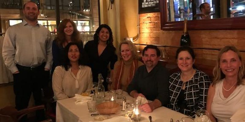 Networking 9 Dinner: It's Appy Hour